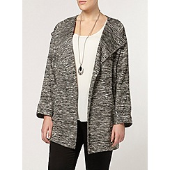 Evans - Grey waterfall jacket