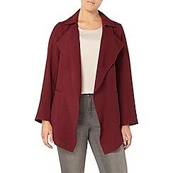 Evans - Red waterfall jacket