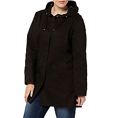 Evans - Black cotton a line mac