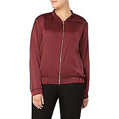 Evans - Red bomber jacket