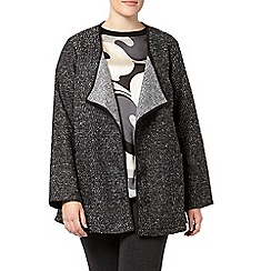 Evans - Grey boucle jacket