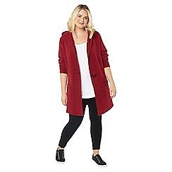 Evans - Red boucle hoodie