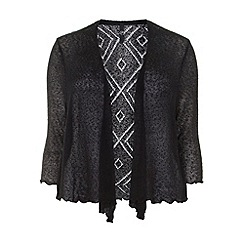 Evans - Black diamond back shrug