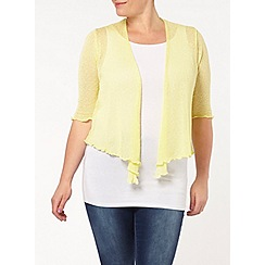 Evans - Sorbet diamond back shrug