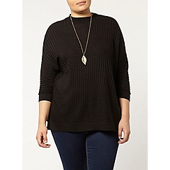 Evans - Black high neck jumper