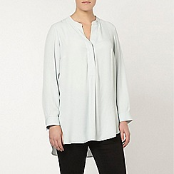 Evans - Live unlimited pale blue blouse