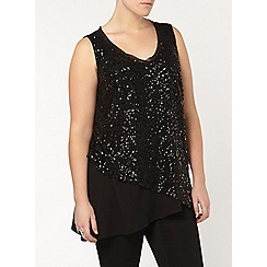 Evans - Live unlimited sequin top