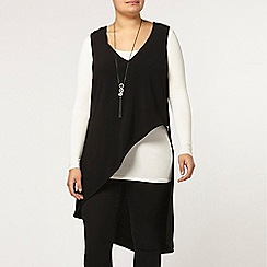 Evans - Live unlimited asymmetric zip top