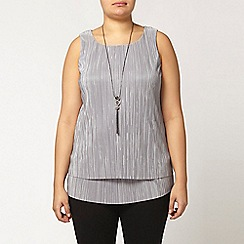 Evans - Live unlimited pleat top