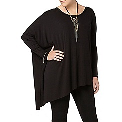 Evans - Black asymetric top