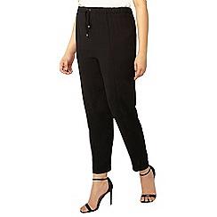 Evans - Black tapered trouser