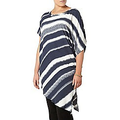 Evans - Navy and white stripe tunic
