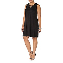 Evans - Live unlimited black swing dress