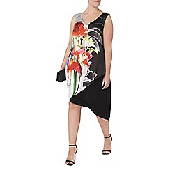 Evans - Live unlimited floral print dress