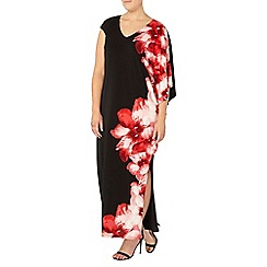 Evans - Live unlimited floral maxi dress