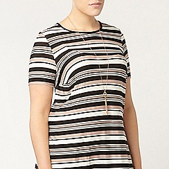 Evans - Multi striped top