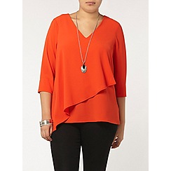 Evans - Orange double layer top
