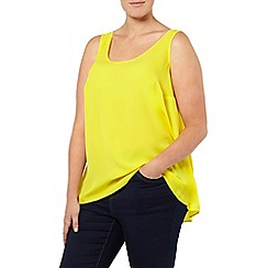 Evans - Citrus yellow scoop vest