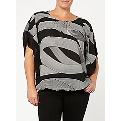 Evans - Graphic stripe bubble