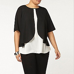 Evans - Black curved double layer top