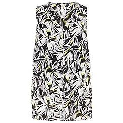 Evans - Floral print top