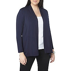 Evans - Navy jersey cover up