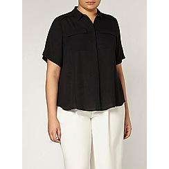 Evans - Black pocket shirt
