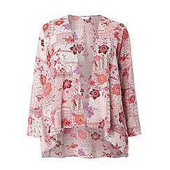 Evans - Pink patchwork kimono