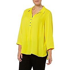 Evans - Yellow workwear shirt