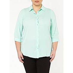 Evans - Mint green button shirt