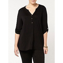 Evans - Black jersey shirt