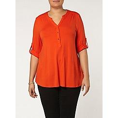 Evans - Orange jersey shirt