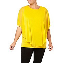 Evans - Marigold cape top