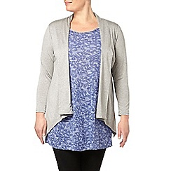 Evans - Grey short length cover up