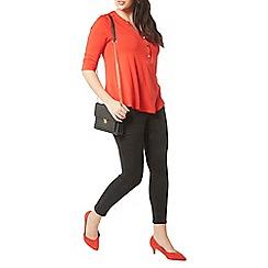 Evans - Red jersey shirt