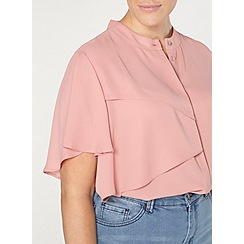 Evans - Collection blush pink blouse