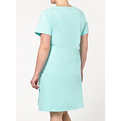 Evans - Blue sunshine short nightdress