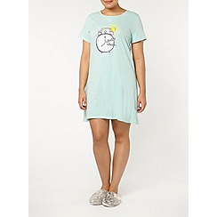 Evans - Alarm clock short night dress