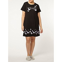 Evans - Heart butterfly short nightdress