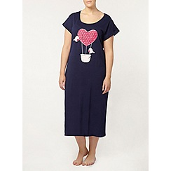 Evans - Bird and balloon long nightdress