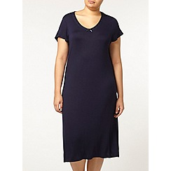 Evans - Navy long nightdress