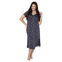 Evans - Make a wish all over print long nightdress
