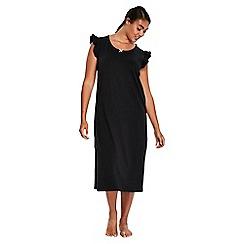 Evans - Black crown long nightdress