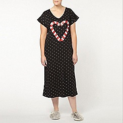Evans - Candy cane long nightdress