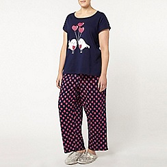 Evans - Bird and balloon pyjama set