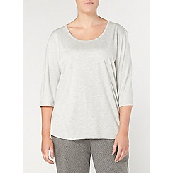 Evans - Grey slouch lounge top