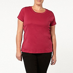 Evans - Red berry t-shirt