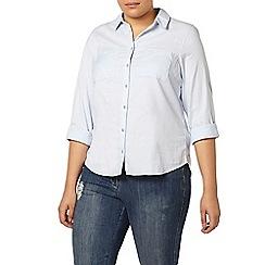 Evans - Blue cotton shirt
