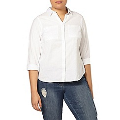 Evans - White cotton shirt