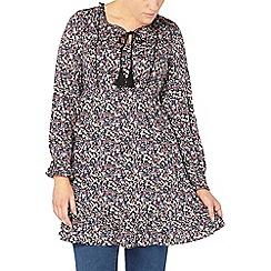 Evans - Multi printed tunic